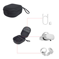 More details for carry case vr headset controller protective storage bag pouch for oculus quest 2
