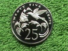 JAMAICA    25 Cents   1970   PROOF   *