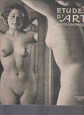 Etudes d'art photographique Revue Art et Photographie hors série  Etudes de nus