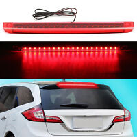 Universal Red LED Car High Mount Level Third 3RD Brake Stop Rear Tail Light Top