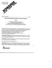 Vintage Phil Donahue TV Show Transcript Men Who Blame Feminism for Problems 1990