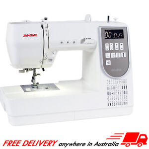 Janome DC6050 Computerised Sewing Machine, Patchwork, Dressmaking, Quilting, NEW