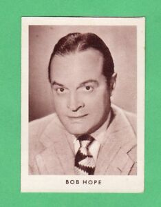 1952  Bob Hope German  Film Star Card  Rare