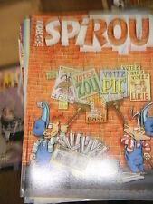 Spirou N° 3354 2002 BD Cédric Les Zappeurs Adam Garage Isidore Papyrus Les psy