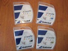 Babolat SG SpiralTek Tennis String - Choice of White, Black, Blue, Yellow Multi
