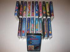 DISNEY BLACK DIAMOND VHS, 19 TITLES, SEALED FOX & THE HOUND, RARE PINK DUMBO