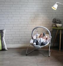 Vibrating Musical Baby Bouncer Chair Rocker Infant Vibration Swing Sleeping Seat