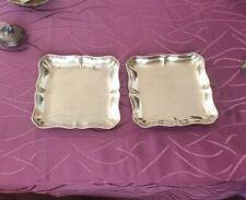 2 Identical Bowls 800 Silver 7.8oz Silver