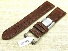 Alfa euro genuine leather watch band 22mm Premium calf  fits hamilton too