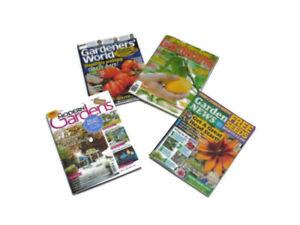 1:12 scale Dolls house Miniature Gardening magazines-accessories