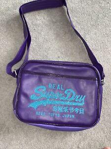 Superdry Purple Bag