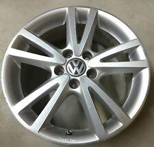 """06 07 08 09 Volkswagen VW Jetta Wheel Rim 18"""" x7.5"""" 5 Double Spoke OEM E1R2"""