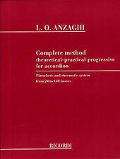 Luigi Anzaghi: Complete Method For Accordion Accordion Sheet Music Instrumental