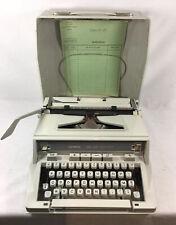 Machine à écrire Hermes 3000 Blanche  vintage  En Excellent État + révisée