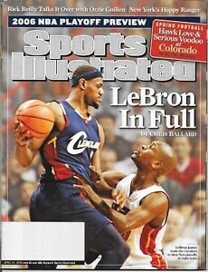 Sports Illustrated 2006 LeBRON JAMES Cleveland Cavaliers GARY PAYTON Near Mint!