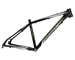 "Cannondale Trail SL2 Aluminum Hardtail Mountain Bike Frame 17"" Medium 26"" 2MB26"