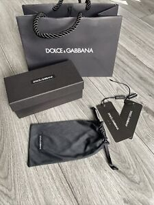 Dolce and Gabbana Glasses/Sunglasses Box and Pouch