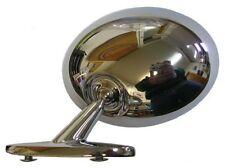 1970-1972 Cutlass 442 Vista Cruiser Toronado Drivers Side Standard Chrome Mirror