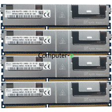 Hynix 128GB 4X 32GB PC3-14900L 1866Mhz DDR3-240Pin Registered LRDIMM Memory Ram