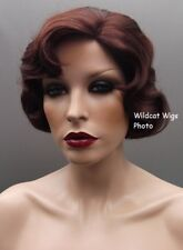 Finger Wave Fingerwave Wig Rose. DARK AUBURN .. Downton Abbey! Best Seller
