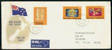 Mayfairstamps New Zealand FDC 1976 Christmas Combo Angels Jesus First Day Cover