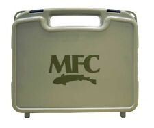 NEW MONTANA FLY COMPANY WATERPROOF BOAT FLY BOX IN SMOKE WITH LG SLIT FLY FOAM