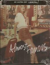 ALMOST FAMOUS 4K ULTRA HD BLU-RAY STEELBOOK BRAND NEW SEALED 2000/2021