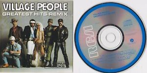 Village People Greatest Hits Remix CD Like New RCA Australia Disctronics