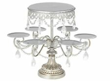 NEW Crystal Cake Cupcake Stand Wedding Round tier display tower party birthday