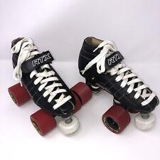 VTG RTX Resistor Torque Series Speed / Dance skates Black Boot Red Wheels Size 2