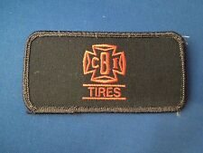 CBI Tires Company Logo Iron On Patch