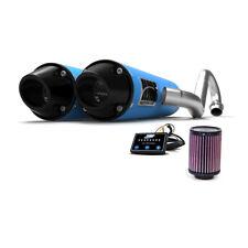 HMF Can-Am Renegade 1000 2016 Octane Blue/Blk Dual Full Exhaust + EFI + K&N