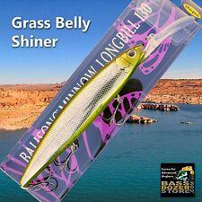 Deps Balisong 130 Longbill GRASS BELLY SHINER jerkbaits bass fishing lures