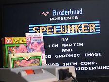 BOX SPELUNKER Famicom Nintendo FC Import Japan Video Game