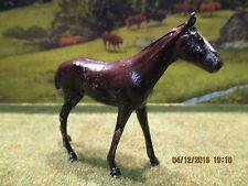 Ferme authentique rare cheval plomb Quiralu Horse hollow lead