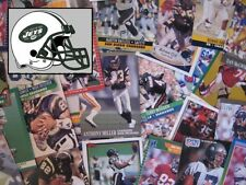 NEW YORK JETS - 1,000 Card Megalot (Assorted Players, Years, Companies)