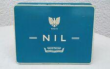 Nil 50 Zigaretten Regie AUSTRIA Tabakwaren München alte Blechdose Zigarettendose