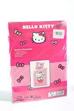 Hello Kitty Renforce Wende Bettwäsche Bettbezug 135x200 + Kissenbezug 80x80cm EE
