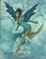 "AMY BROWN FAIRY FAERY STICKER DECAL ""WATER ELEMENT"" FROM 2002"