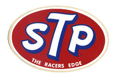 STP sticker hot rod drag race motor oil sales service retro dragster muscle car