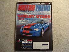 Motor Trend 2009 March Shelby GT500 Lexus RX Porsche Ford Flex Cobalt SS VW GTI