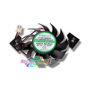 Evercool Video Card Fan 50mm x 10mm For Square Heatsink Frame EC5010M12S-I