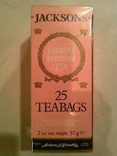 JACKSONS The Aromatise AUX Fleurs De Jasmin 25 Sachets De The' Tea Bags
