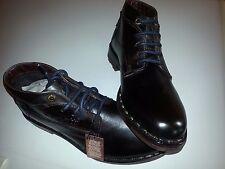Bugatti Herren Stiefelette Boots Leder Farbe dunkelbraun Größe 41 NEU