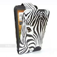 Zebra Face Flip Case Pouch PU Leather Cover For Samsung I9300 Galaxy S III S 3