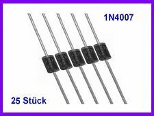 20x UF4007-DIO Diode Gleichrichter THT 1kV 1A Verpackung Ammo Pack DO41 UF4007