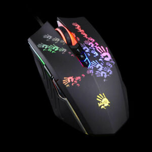A4Tech Bloody A60 Blazing wired gaming mouse optical 4000 dpi usb 8 button black
