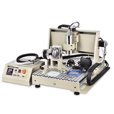 1500W VFD Graviermaschine USB 4 Achse 6040 CNC Fräsmaschine Router Engraver DE