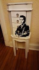 Jewelry Armoire Cabinet Chest Organizer Stand Holder Mirror Storage Box, Elvis