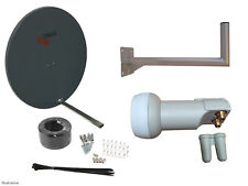 Triax TD110 Satellite Dish(110cm) With Wall Mount & Twin LNB/ Installation Kit